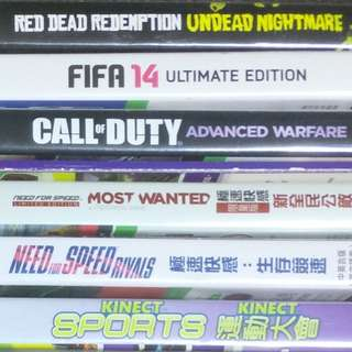 Xbox 360 games at great prices!!
