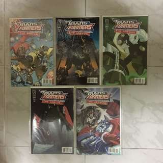 Transformers: Animated - The Arrival #1-5