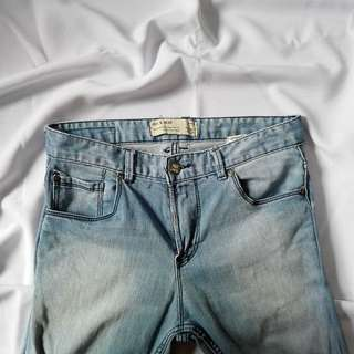 Pull & Bear Tattered Pants