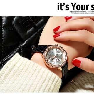 Elegant watch 🎁$50 3 colors!! 女裝手錶