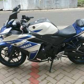 Yamaha R25 thn 2015 modif
