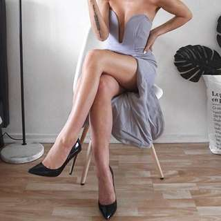 Grey Formal Dress