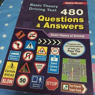 BTT Book / basic theory book (480 questions and answers )