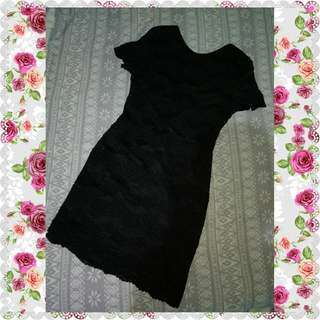 Pkus size Lace bodycon Dress