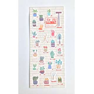 Sticker Set Moore Series - Gardening (K11)