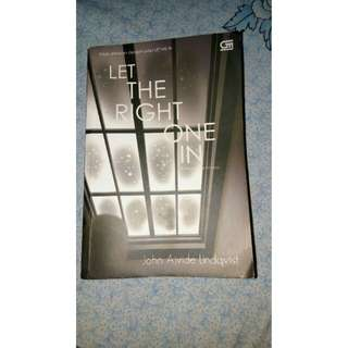Novel Let The Right One In