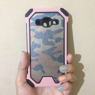 Hard case army pink samsung j2