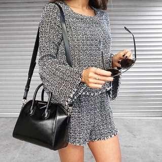 Tweed Playsuit