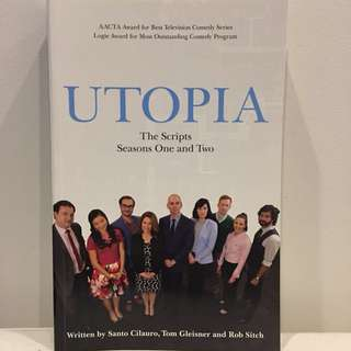 Utopia: The Scripts Season One and Teo