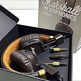 [代購]英國搖滾名牌Marshall Major II 2耳罩式耳機
