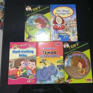 Pre-loved Children Story Books