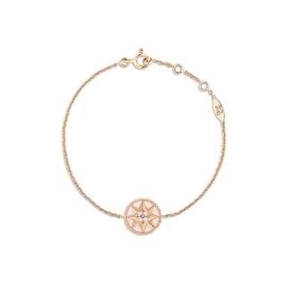 Dior Rose des vents 18k rose pink手鏈