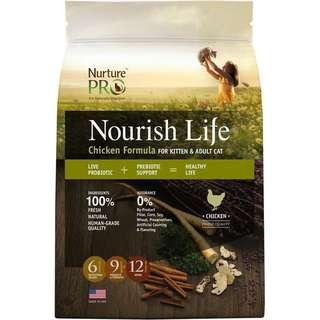 Nourish Life Cat Food 5.4kg