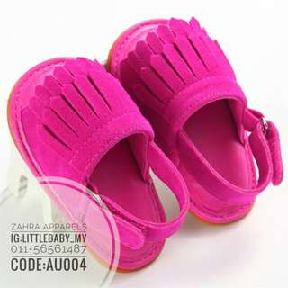 Candy colour sandal prewalker