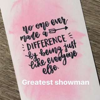 Handmade watercolor cards going for $1.50 each! Calligraphy included
