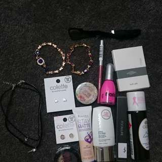 Makeup and jewellery bulk