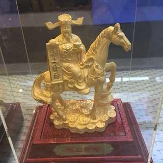 Ma Shang Fa Cai , gold plated