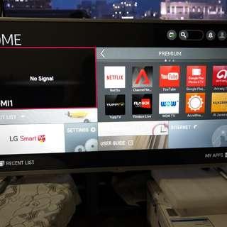 LG 42 inch Flat Smart Led Tv