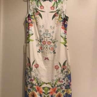 Zara floral dress