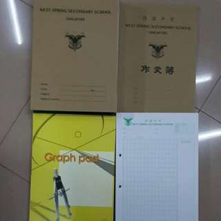 [Brand New] West Spring Secondary School Books