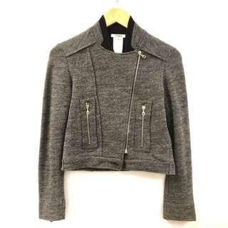Chloe dark gray and black jacket size M