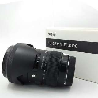 Sigma 18-35mm F1.8 DC ART for Canon EF