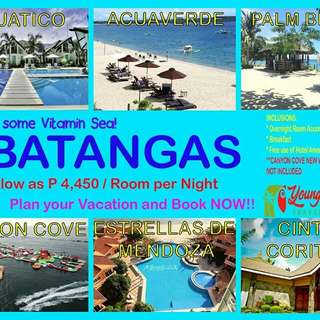 BATANGAS RESORT ROOM ACCOMODATION