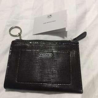 Coach coin keychain wallet (brand new) original