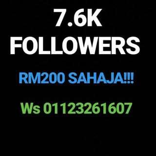 Account instagram untuk dijual