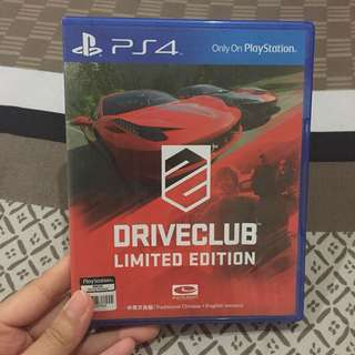 PS4 Drive Club Limited Edition
