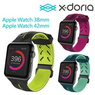 X-doria 道端 Action Band Apple Watch 42mm 38mm 錶帶