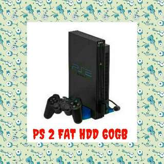 PS 2 FAT HARDISK EKSTERNAL 60 GB