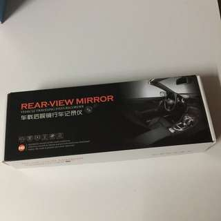 Rear view mirror vehicle recorder