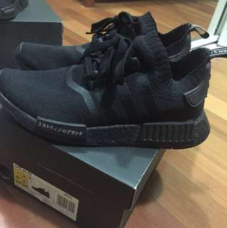 JAPAN TRIPLE BLACK NMD SIZE US7