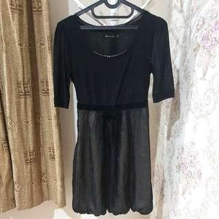 Dress Velvet Flowy