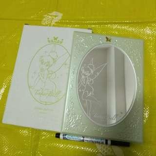 迪士尼  TINKER BELL  小精靈 鏡子 裝飾品 禮物 雜貨