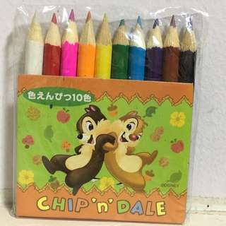 Mini Chip 'n' Dale colour pencil