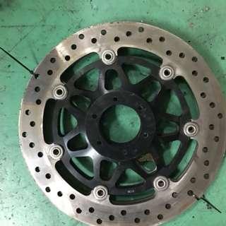Cb400 front brake disc arashi