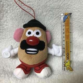 日本 迪士尼 toy story 薯蛋頭先生 掛飾