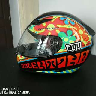 AGV Helmet K3 limited edition PSB approved