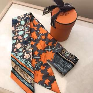 SALE! Authentic Hermes Twilly 99% new !!