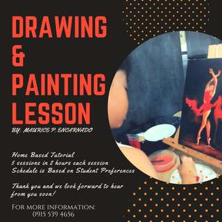 Painting and Drawing Lesson