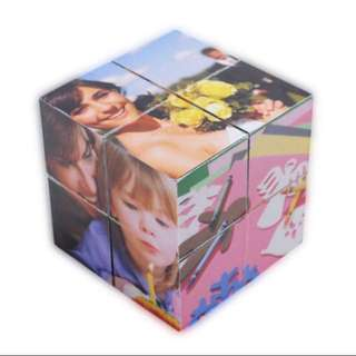 Handmade Personalised Infinity Cube - Valentine's Gift Idea!