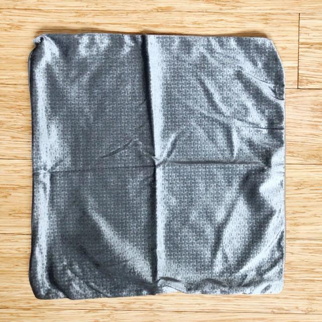 1 PC Throw Pillow Case in Bluish Silver
