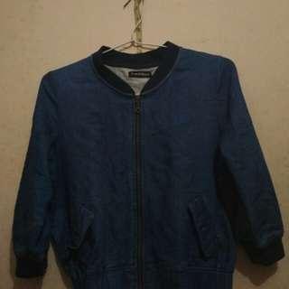 Bomber Jacket Jeans Denim