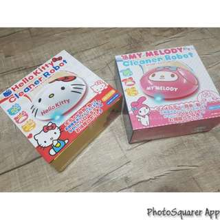 Hello Kitty & Melody Robot Vacuum Cleaner