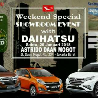 Showroom event spesial daihatsu daan mogot