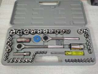Tools set socket spanar/ spanner