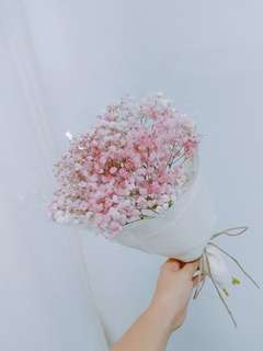Dried baby's breath Bouquet - 0073