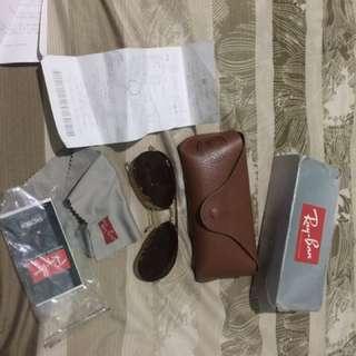 Rayban aviator Limited Edition sunglasses